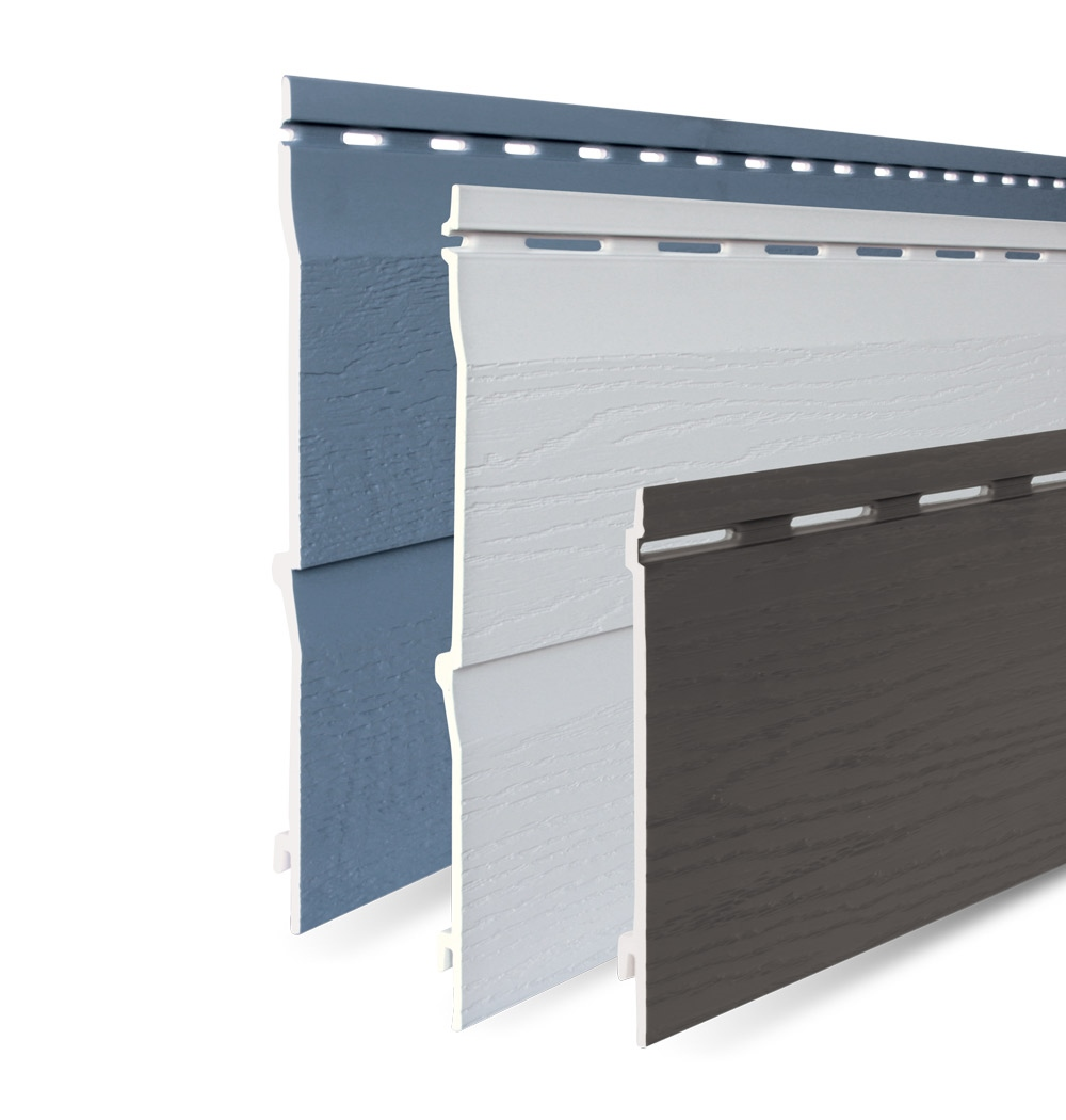 Exterior wall cladding - many structures, colours, models and ...