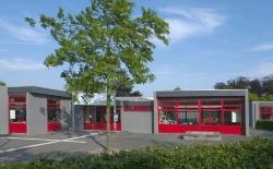 milyt plaatmateriaal school rood