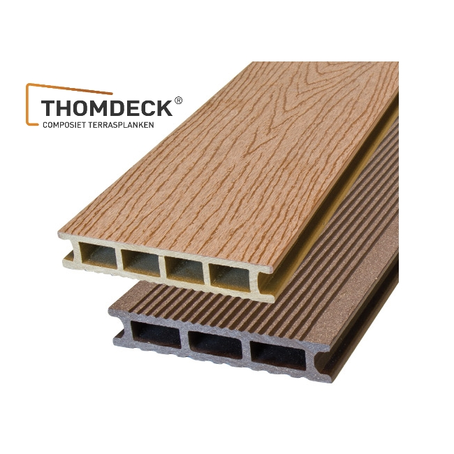 Composite decking milin b v for Best composite decking brand 2016