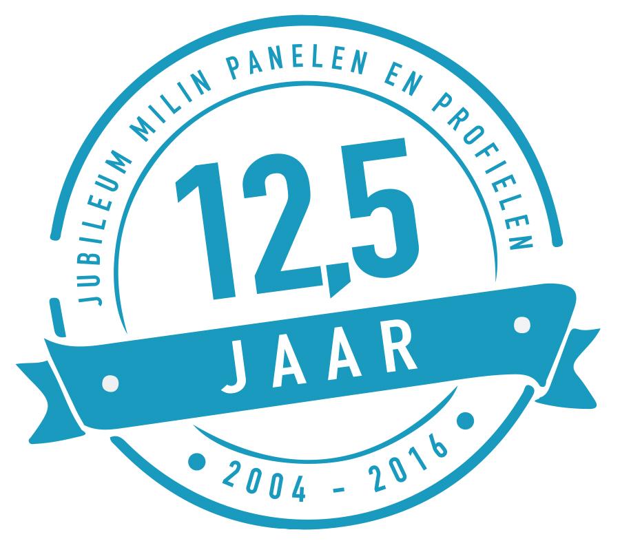 12 5 jaar Wij bestaan 12,5 jaar!   Milin B.V. 12 5 jaar