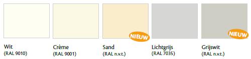 Afbeeldingsresultaat voor nieuwe kleuren milyt