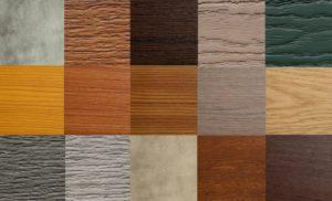 hout of kunststof gevelbekleding