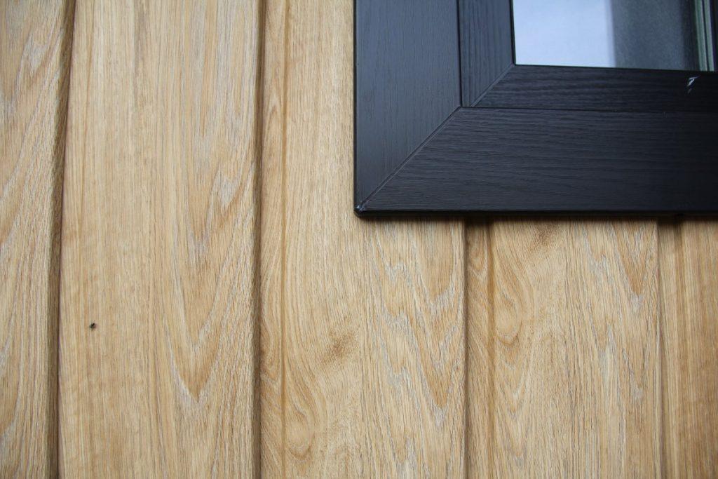 houtstructuren gevelbekleding
