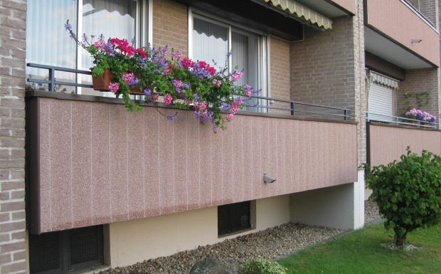 balkon gevelbekleding